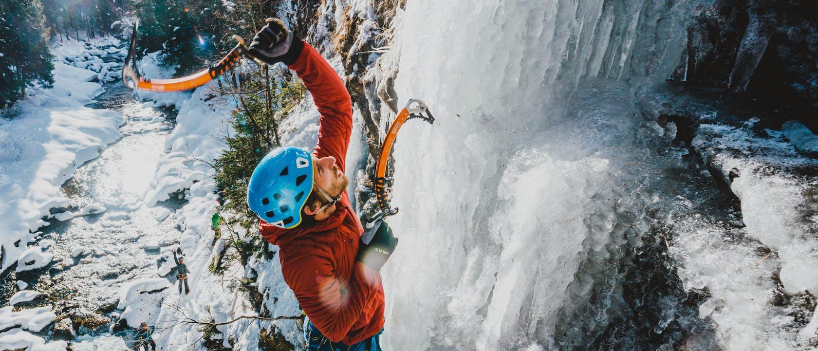 accessori arrampicata su ghiaccio