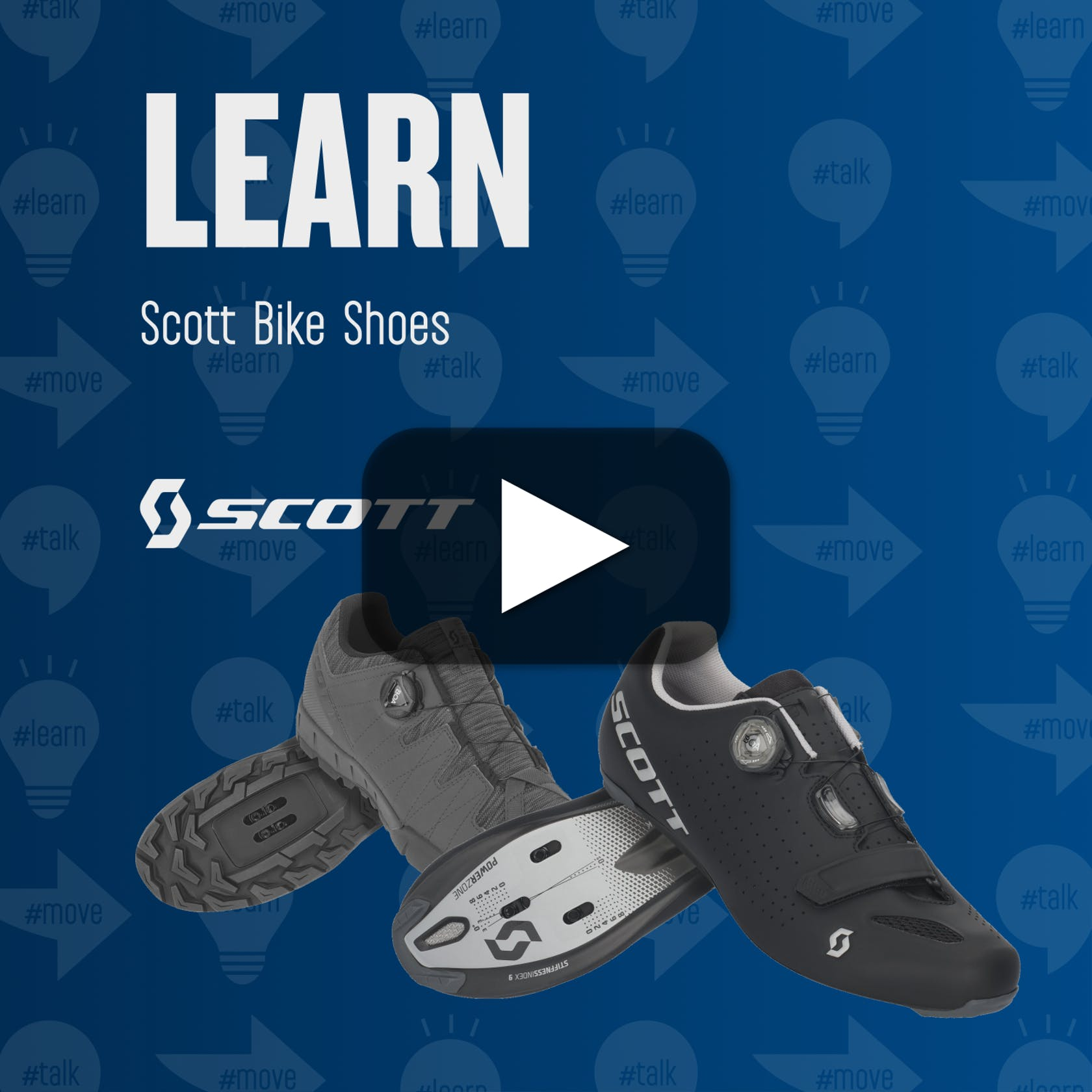 LEARN Scott Bike Shoes