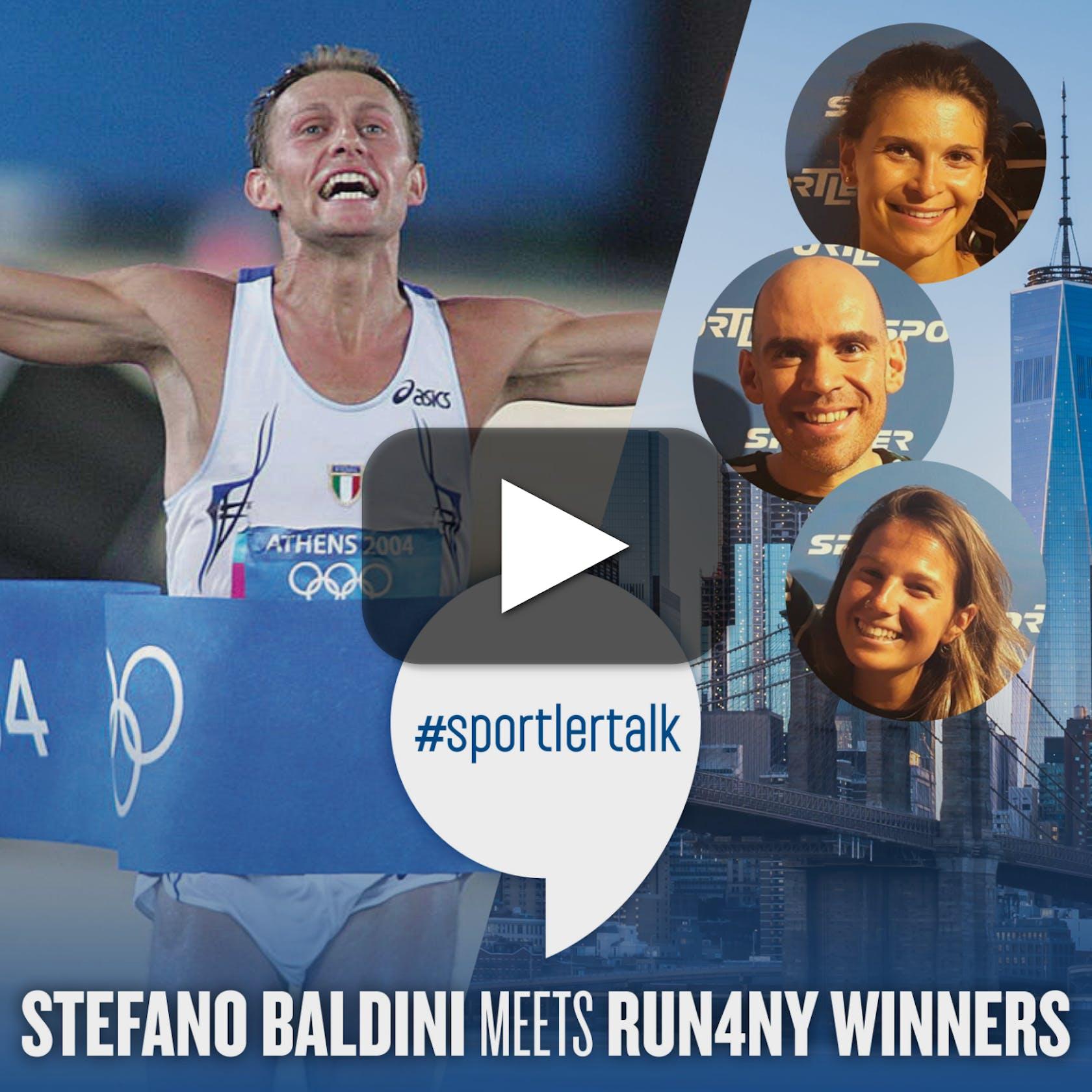 #TALK Baldini meets Run4NY