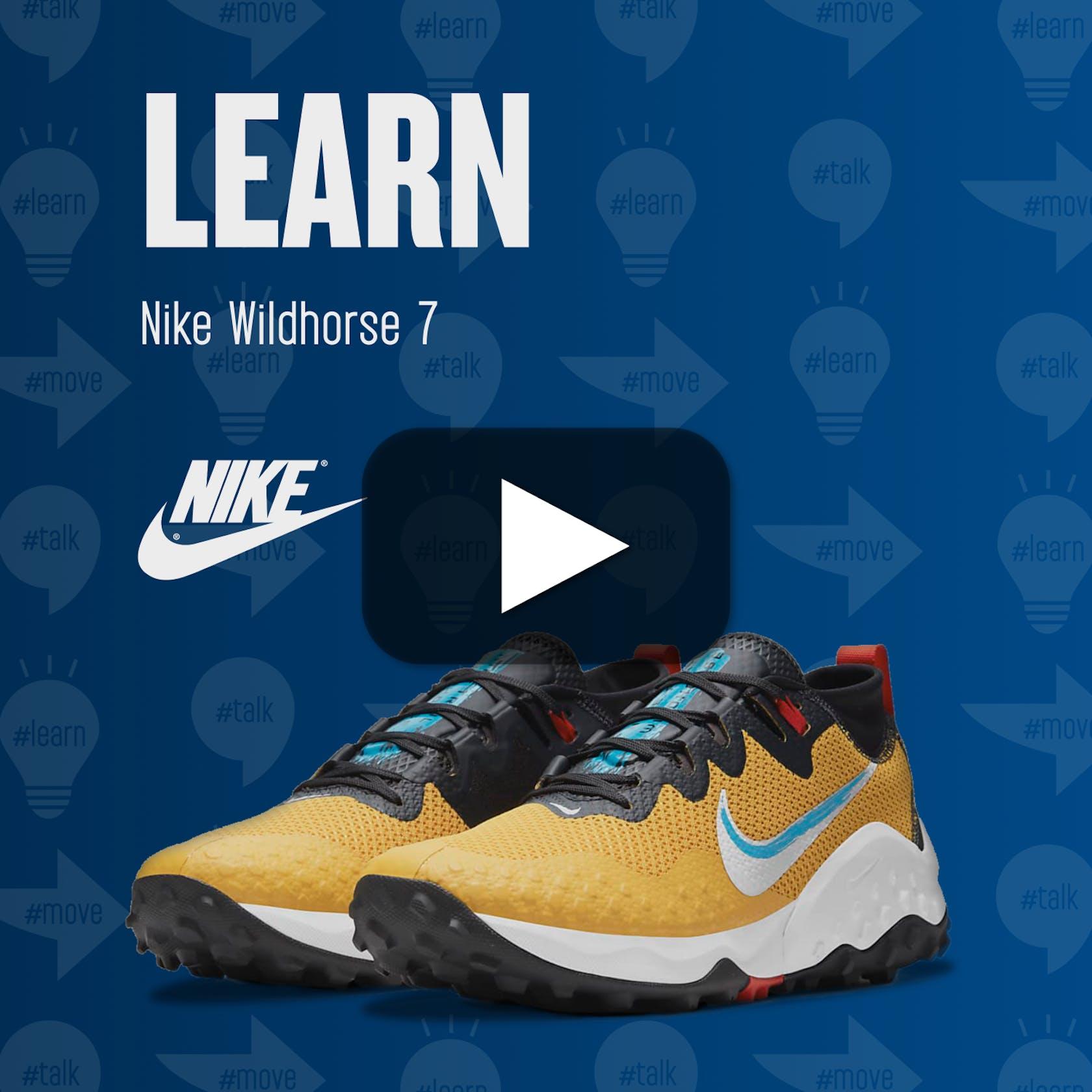 #LEARN Nike Wildhorse 7