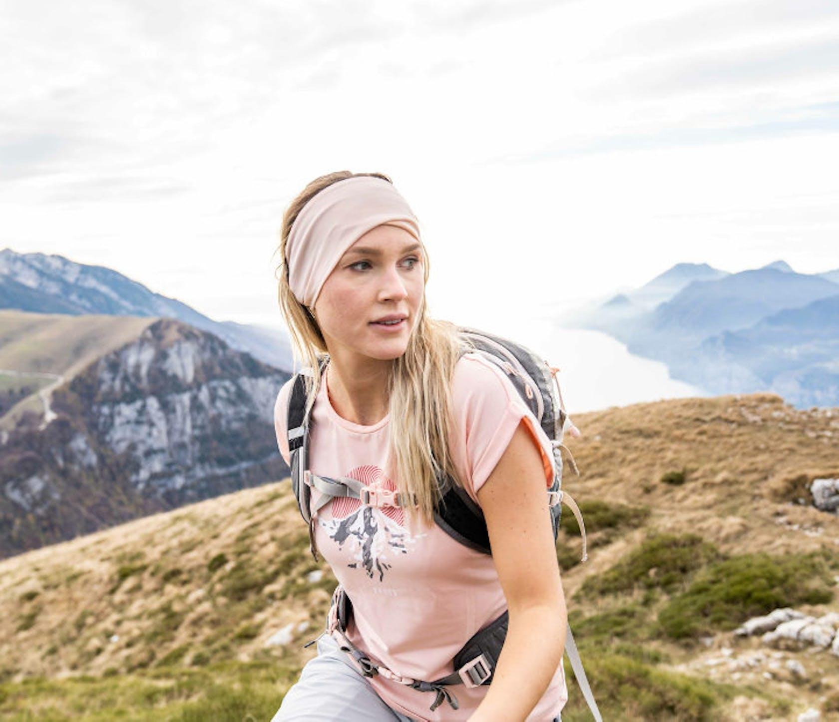 donna montagna