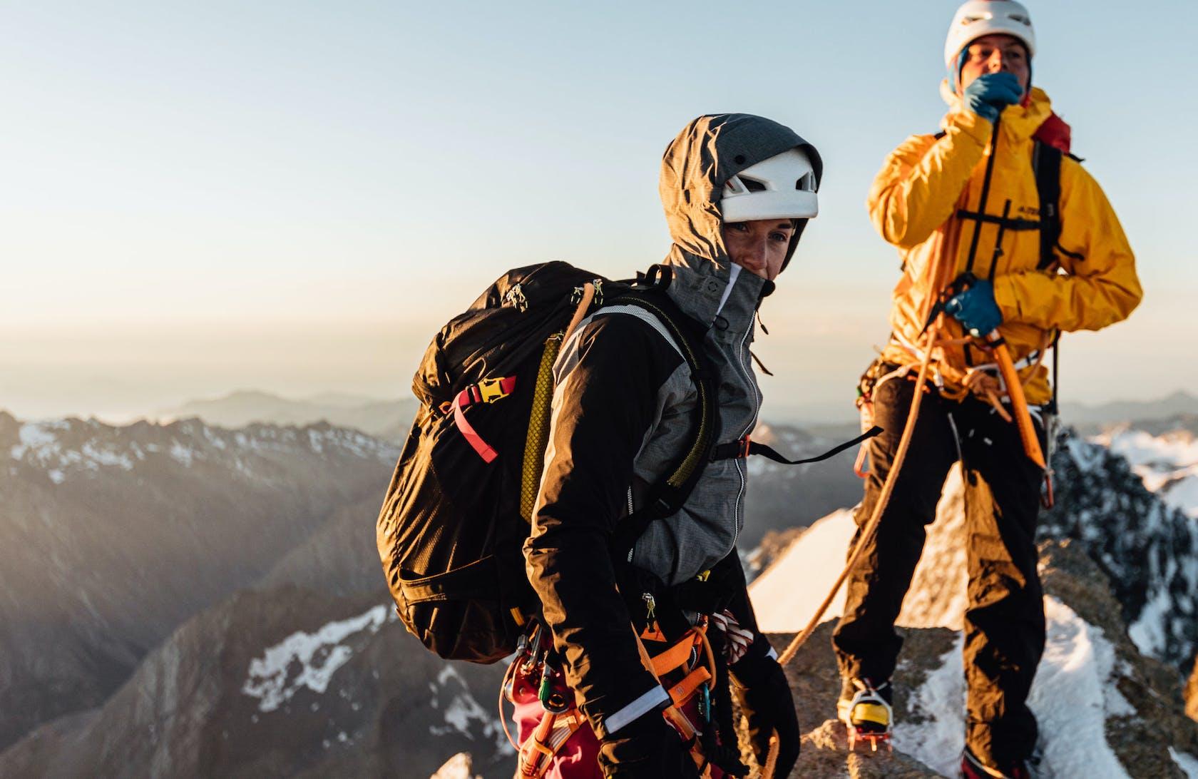 Attrezzatura alpinismo d' alta quota