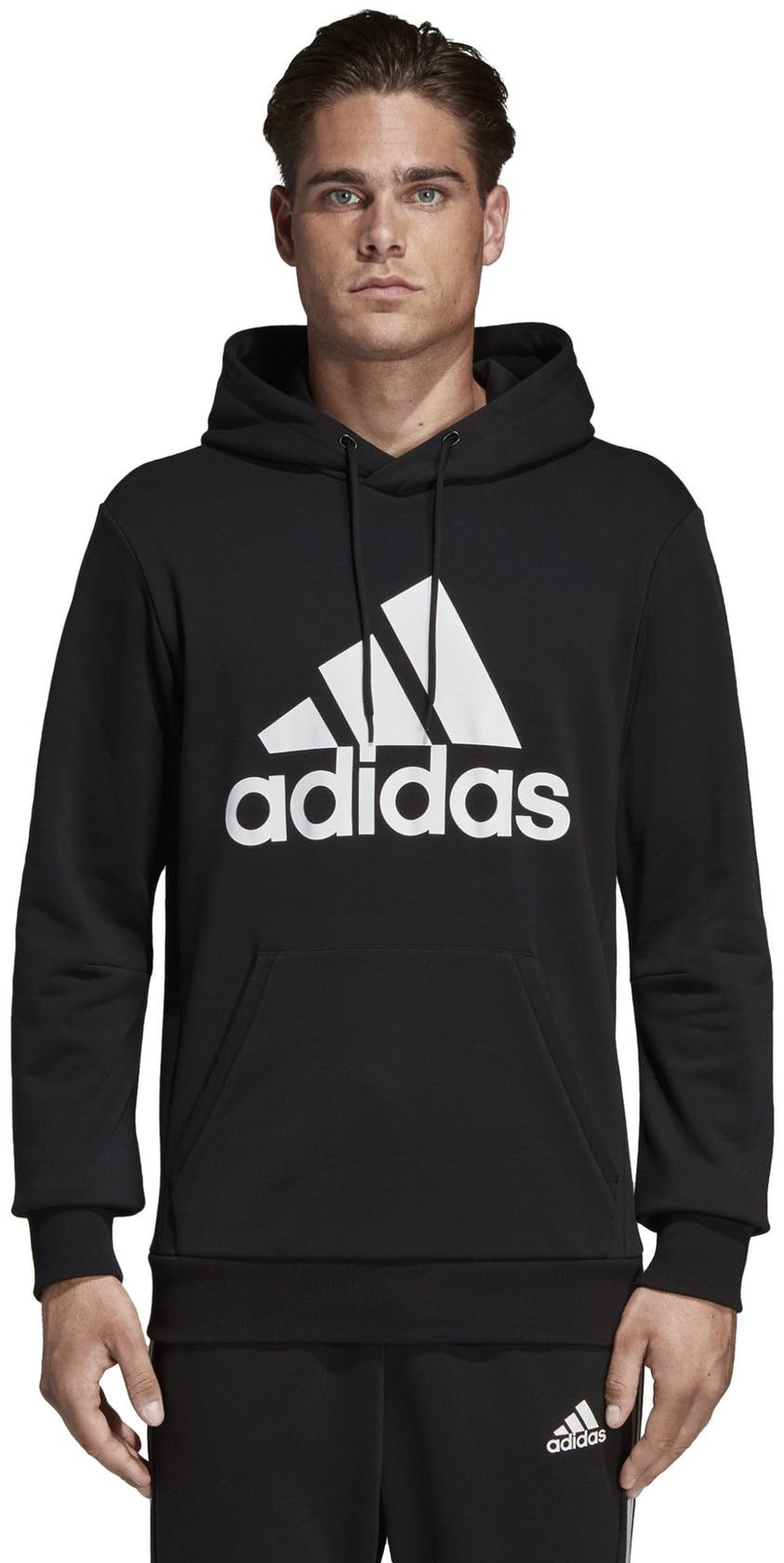 adidas Must Haves Badge of Sport - felpa con cappuccio - uomo