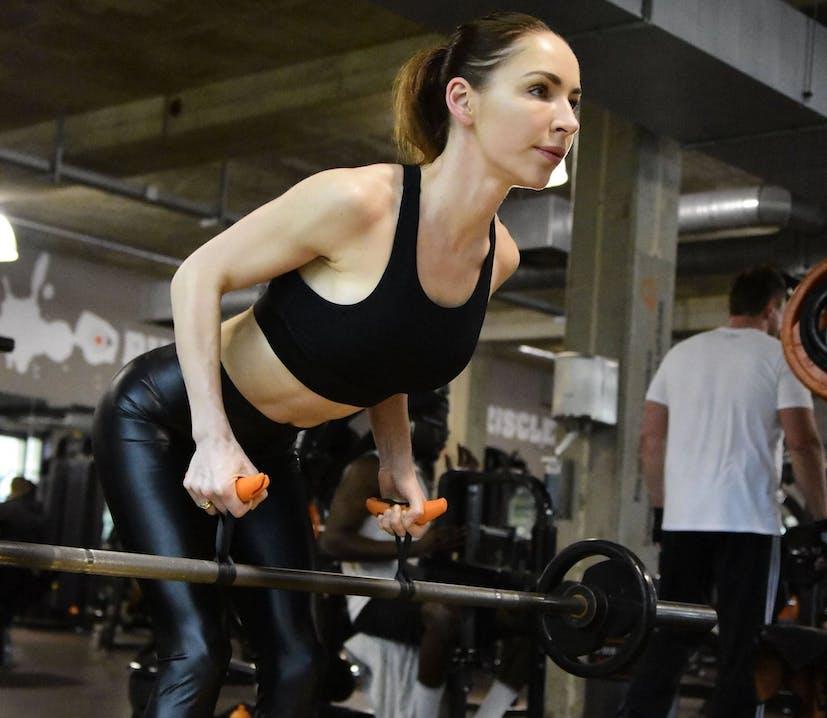Atleta che si allena