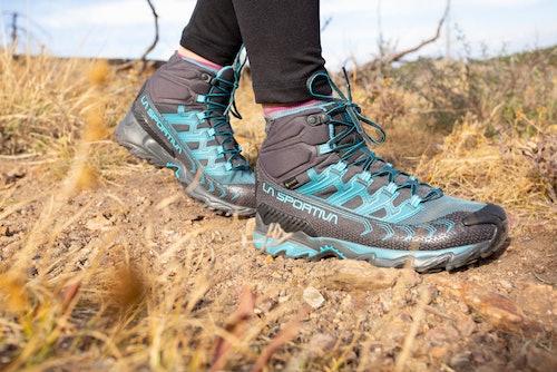 Primo piano della scarpa
