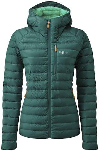 Rab Microlight Alpine WMNS - giacca piumino con cappuccio - donna