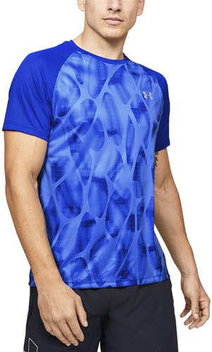 Under Armour Qualifier Iso-Chill Printed Run - maglia running - uomo