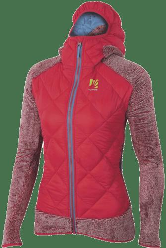 Karpos Marmarole - giacca ibrida in pile - donna