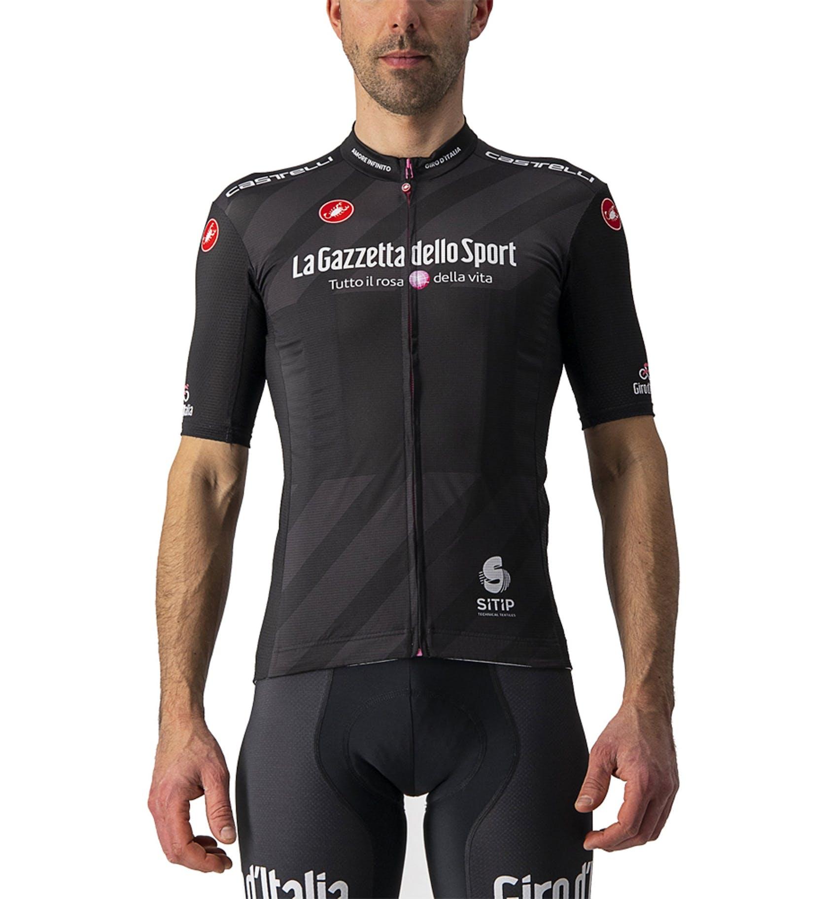 Castelli Schwarzes Trikot Competizione Giro d'Italia 2021 - Herren