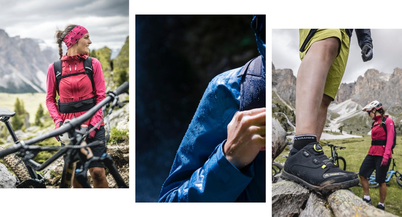 Abbigliamento VAUDE per bici e montagna
