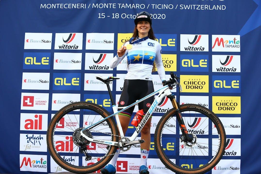 Gaia Tormena sul podio