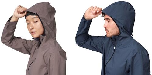 On Waterproof Anorak - modello da uomo e da donna