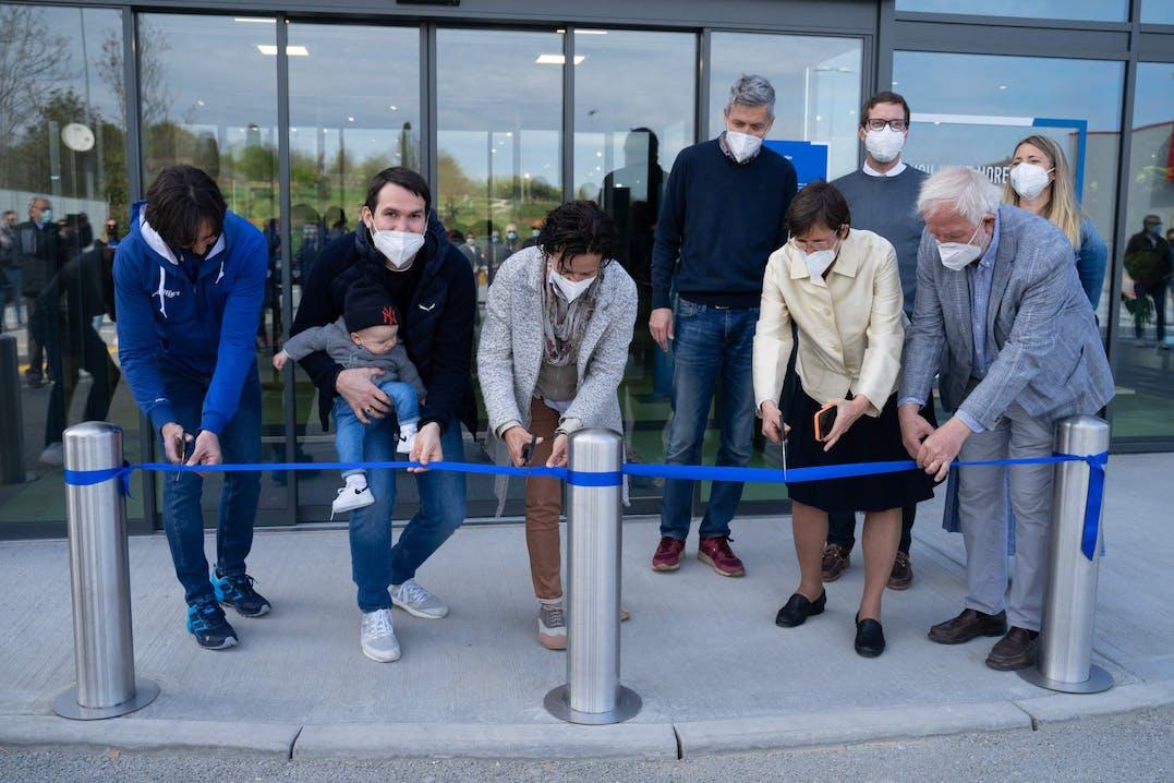 Inaugurazione del primo SPORTLER Bike Store