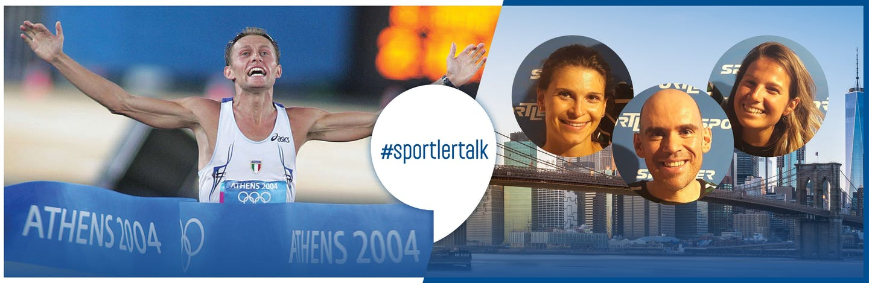 #sportlertalk Baldini meets Run4NY