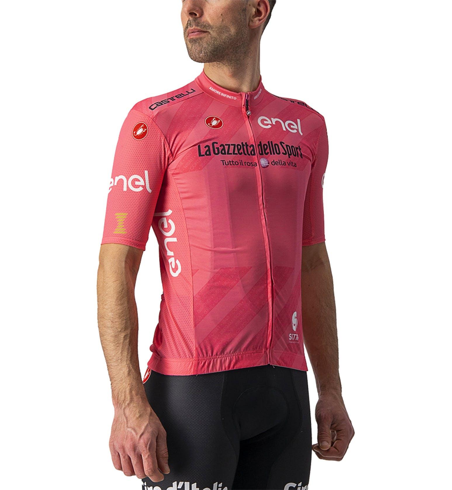 Castelli Rosa Trikot Competizione Giro d'Italia 2021 - Herren