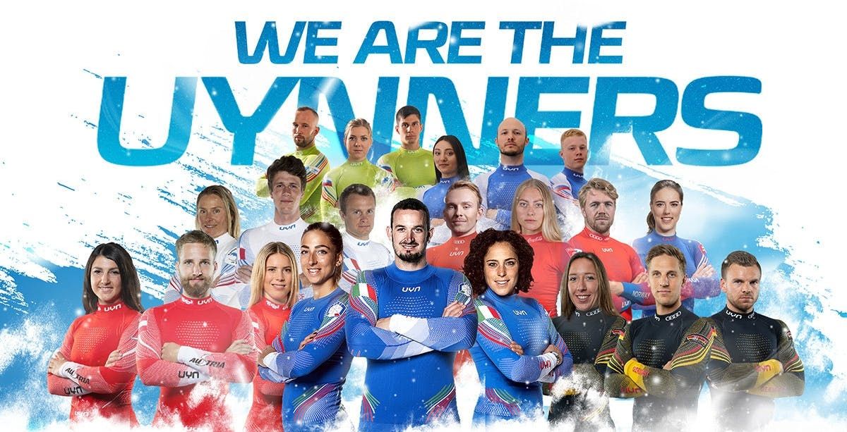 Nove squadre nazionali che hanno scelto UYN