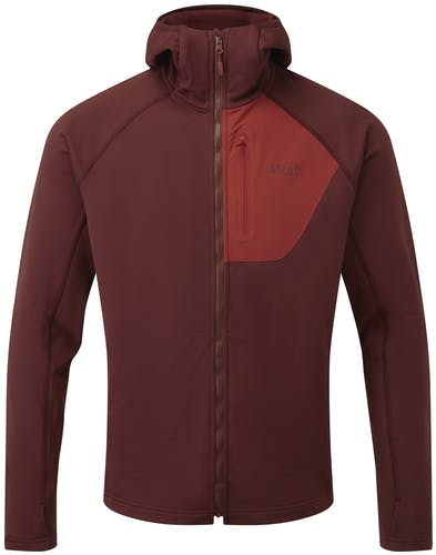 Rab Superflux - giacca con cappuccio - uomo