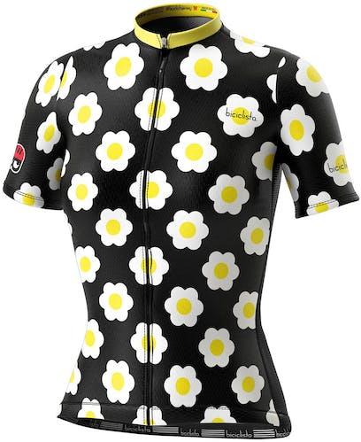 Biciclista Clubbin Daisy - maglia bici - donna