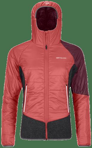 Ortovox Swisswool Piz Zupo - giacca con cappuccio - donna