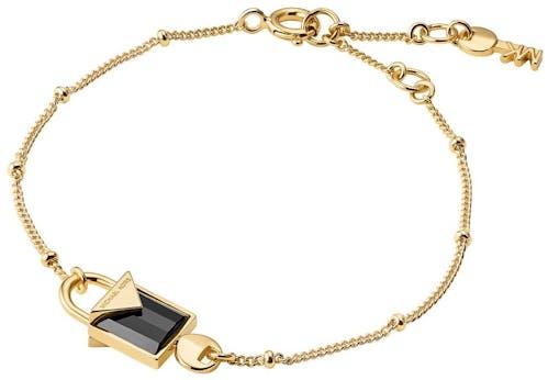 Bracelet MICHAEL KORS en Argent 925/1000 Jaune et Onyx