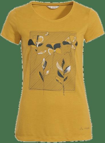 Vaude Skomer Print - t-shirt trekking - donna
