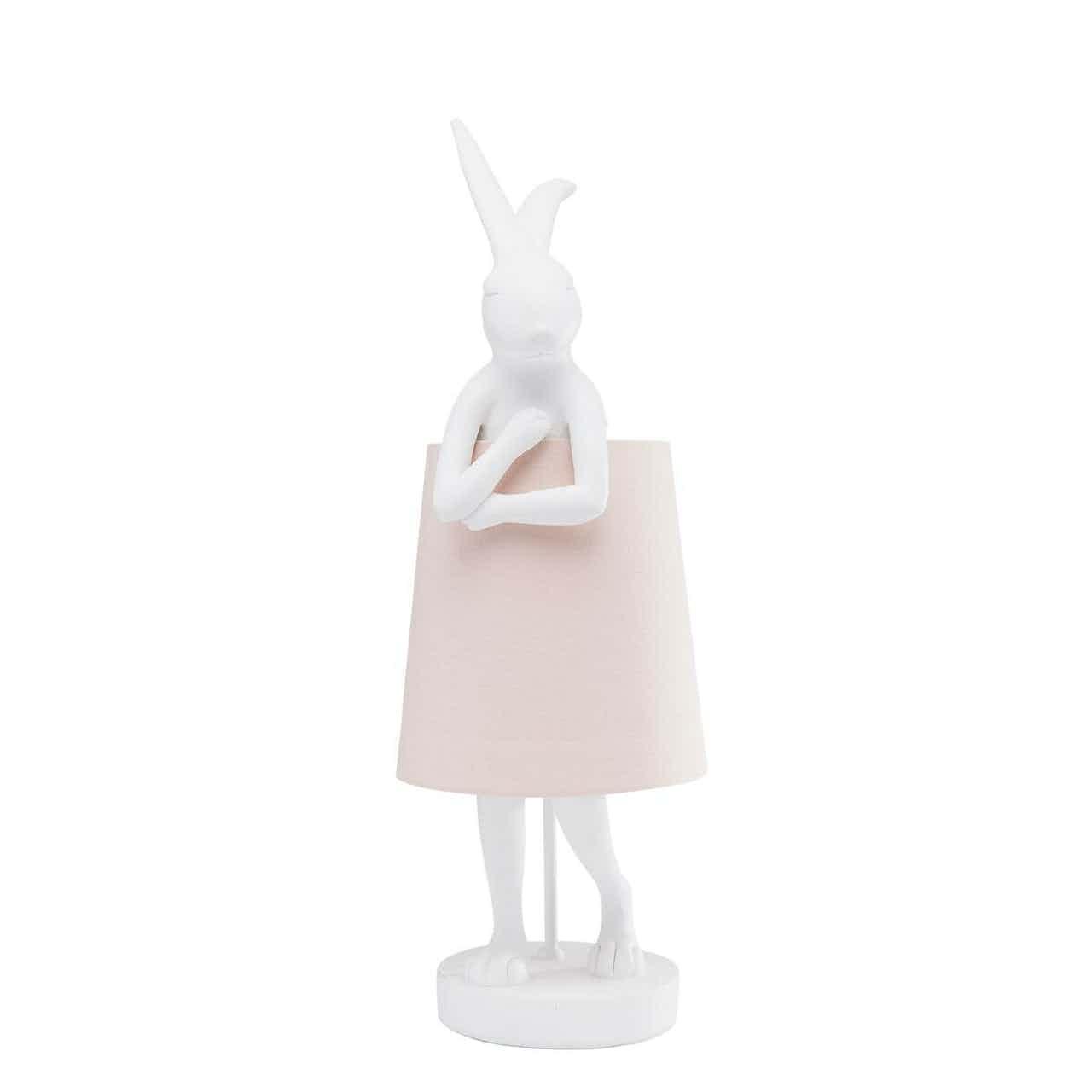 Kare Tischleuchte Animal Rabbit weiß