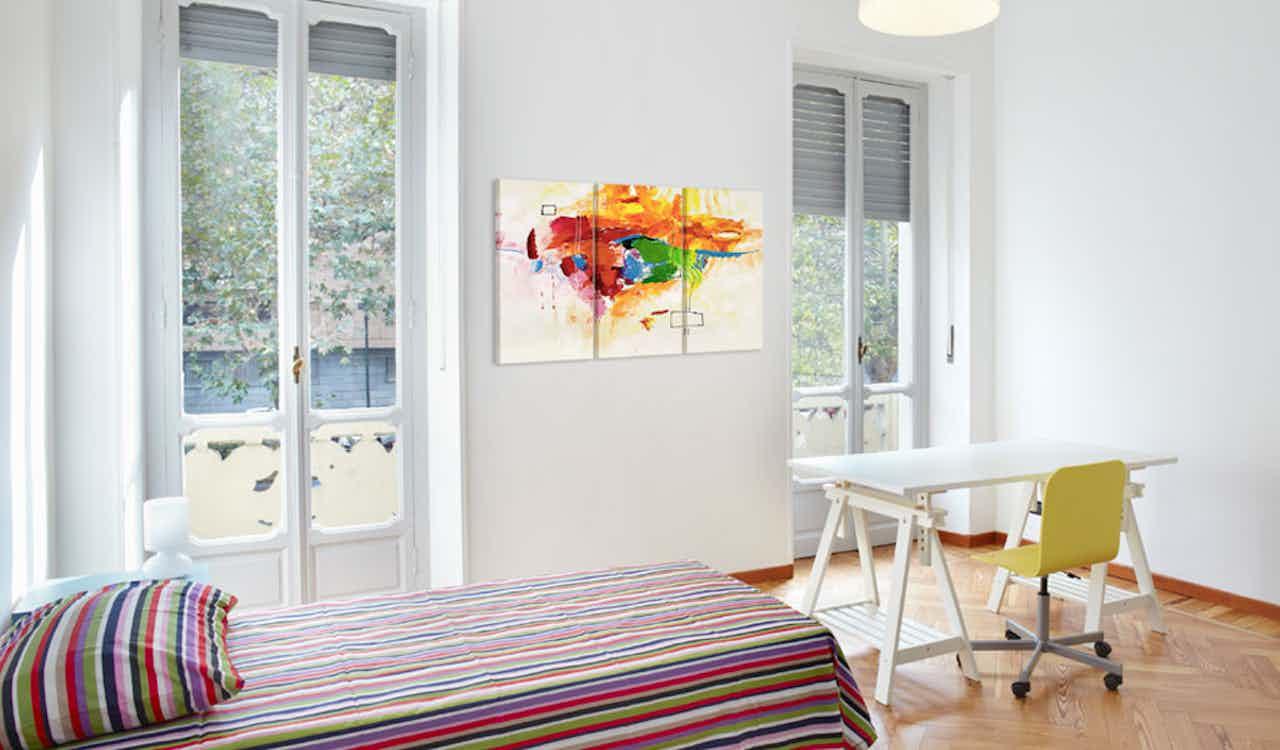 Wandbild - Papagei