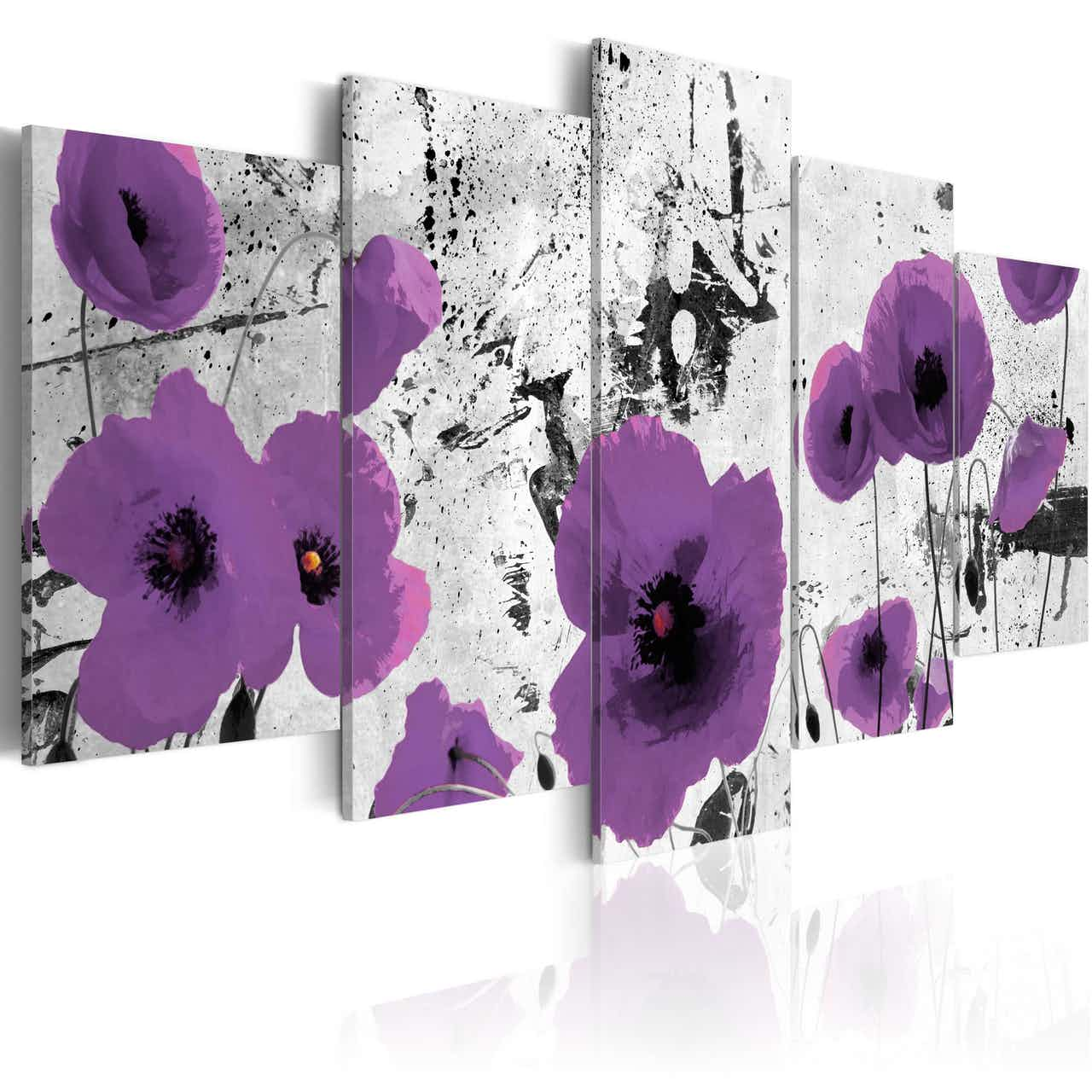 Wandbild - Purple dissonance