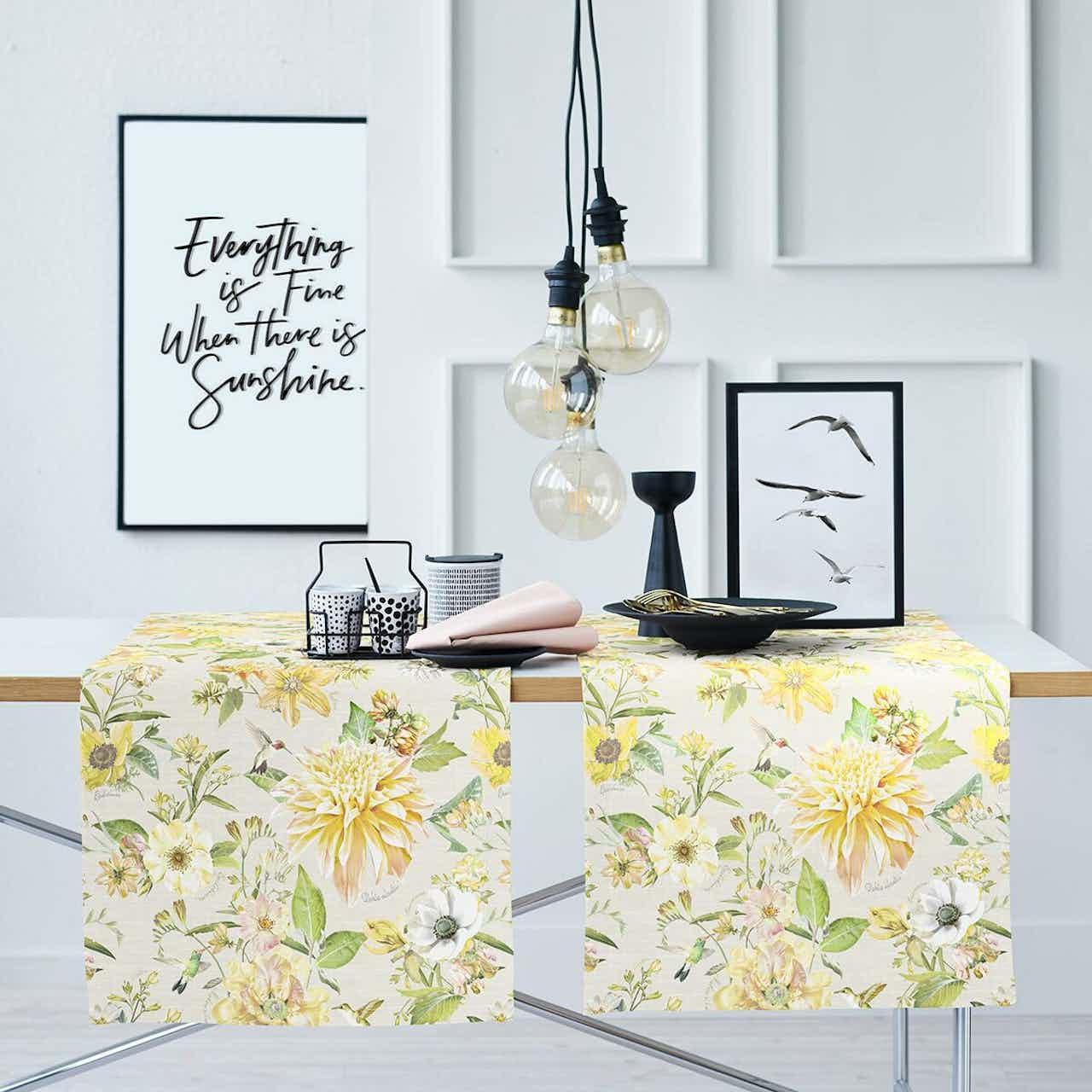 Apelt Tischläufer Sommerblumen