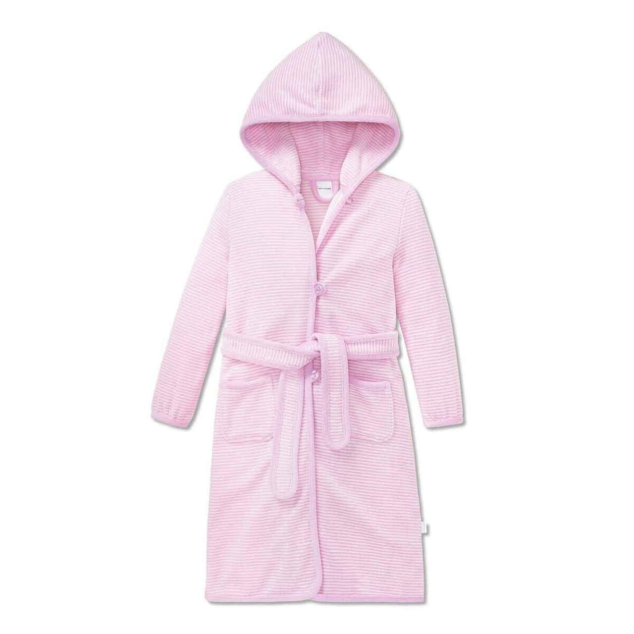 Schiesser Kinder Kapuzenmantel Uni rosa