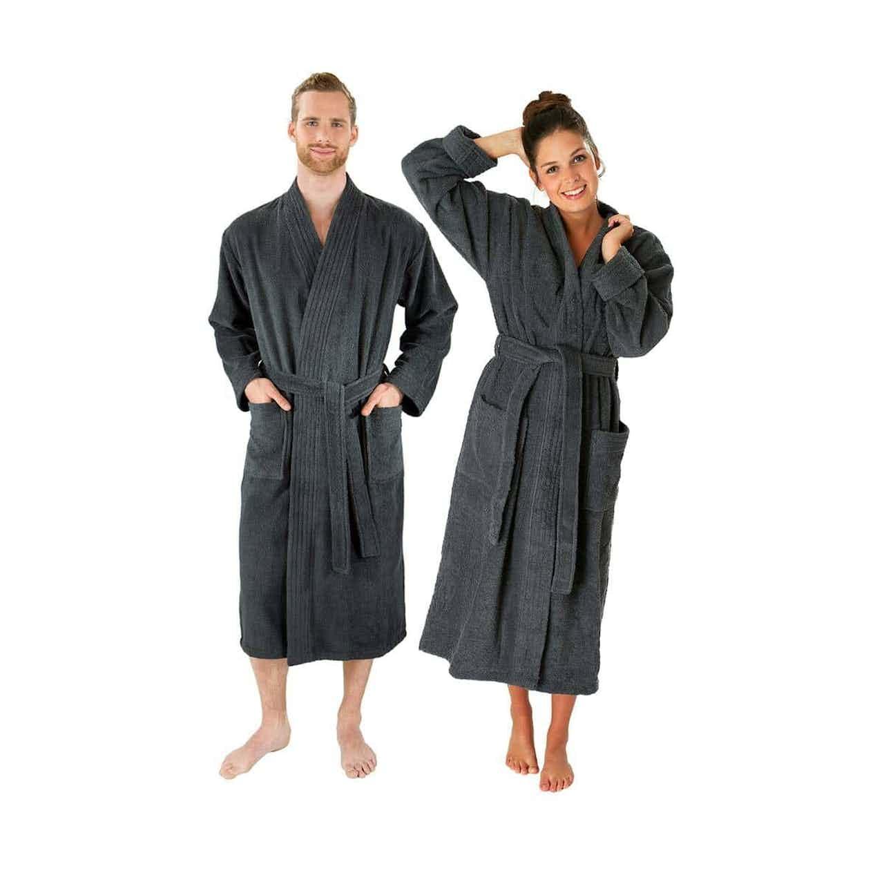 wewo fashion Bademantel Unisex Kimono 3005