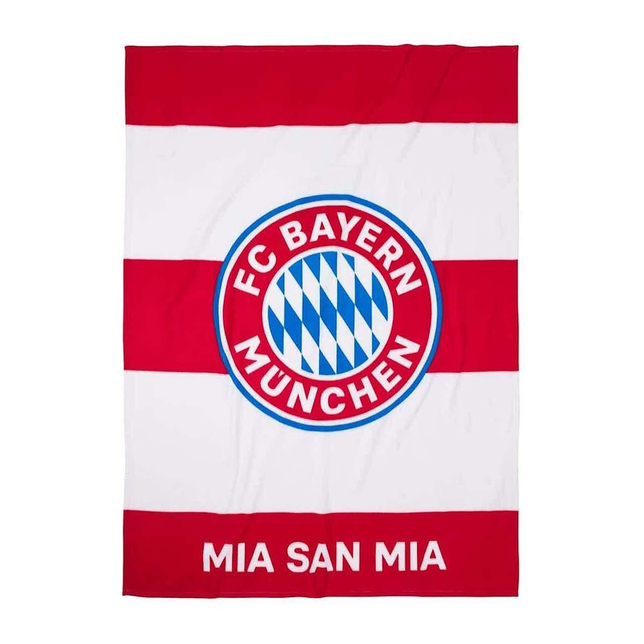 FC Bayern München Kuschelfleecedecke