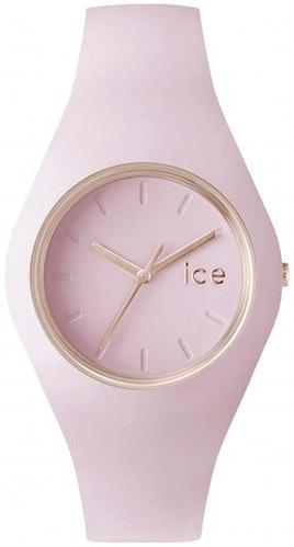 Cette montre ICE-WATCH se compose d'un boîtier Rond de 38 mm et d'un bracelet en Silicone Rose
