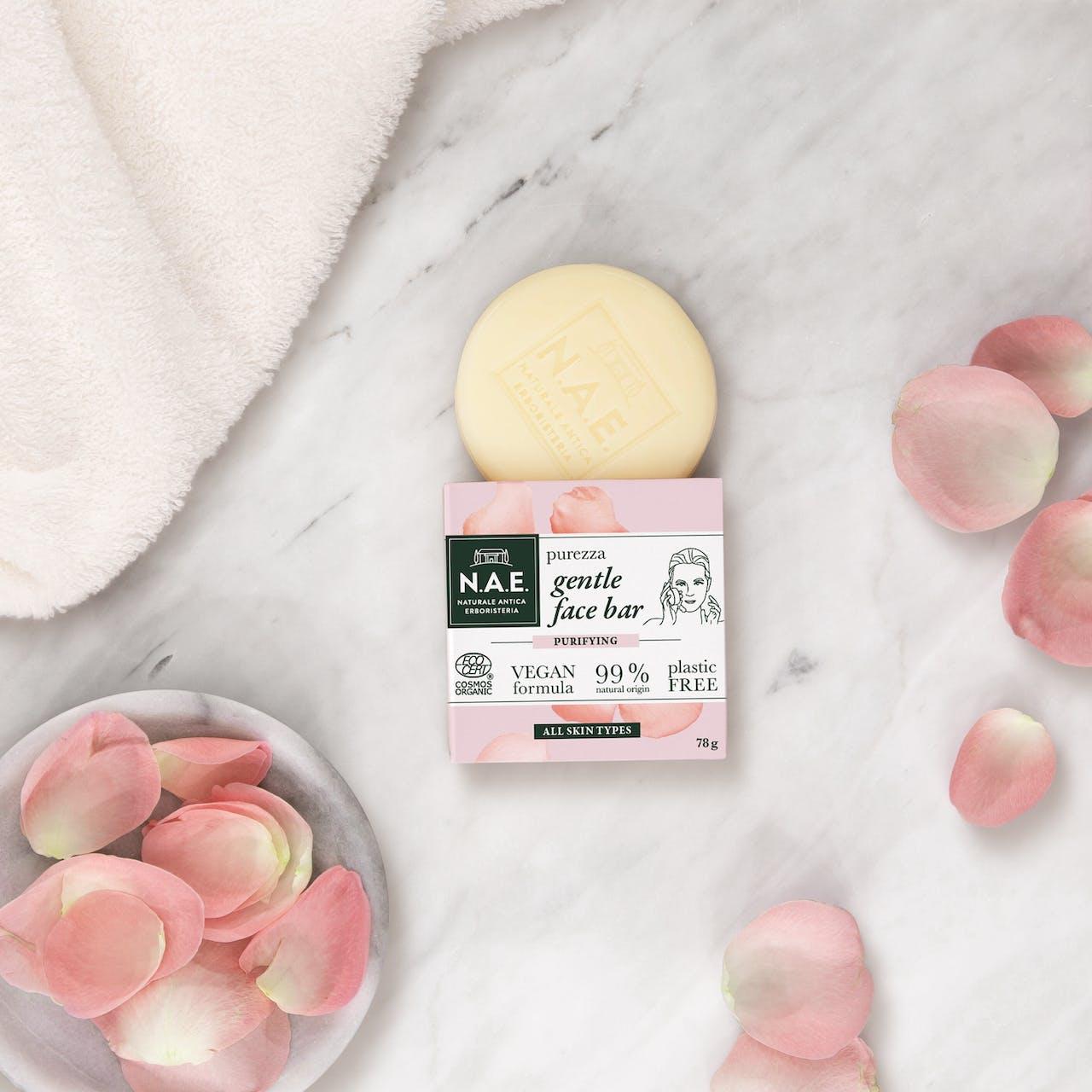 Gyengéd arctisztító szappan, 78g
