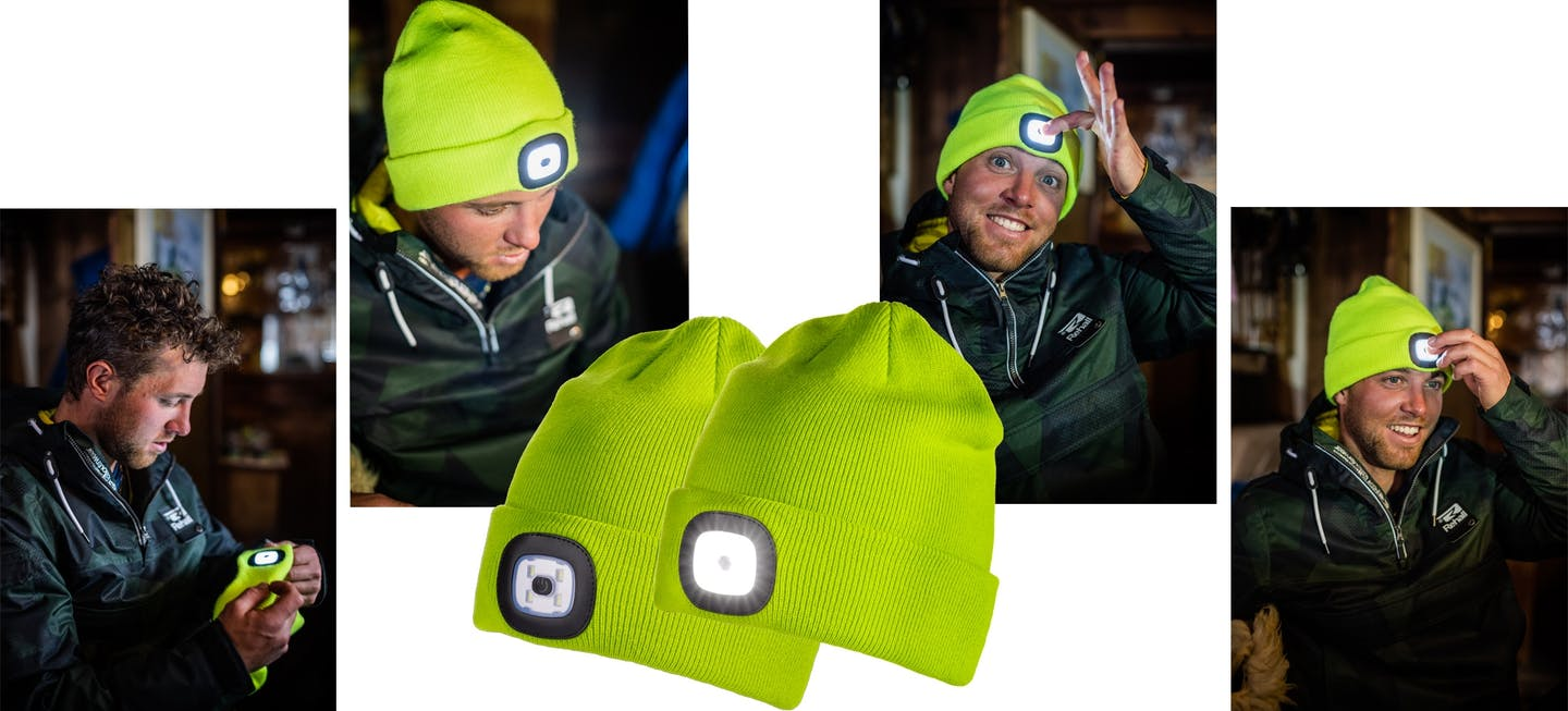 Beanie Lighty Iceport - Lampe mit 4 LED, per USB aufladbar