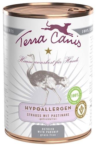 Terra Canis - Nassfutter - Hypoallergen Strauss mit Pastinake (getreidefrei)
