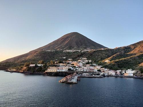 Blick auf Liparische Inseln