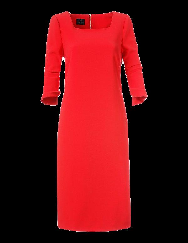 Kleid in aktueller H-Linie