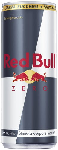 Lattina di Red Bull Zero