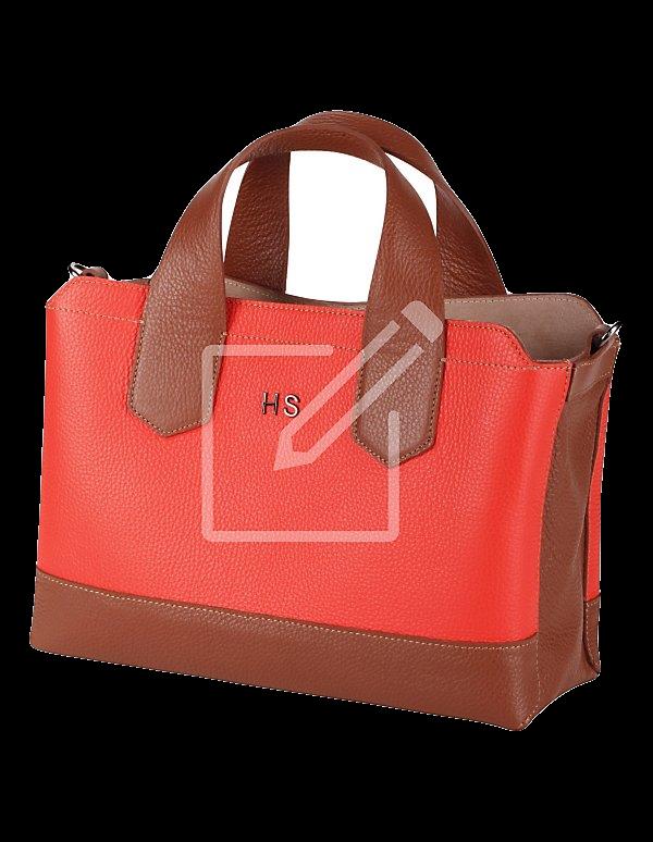 Handtasche aus Leder – personalisiert