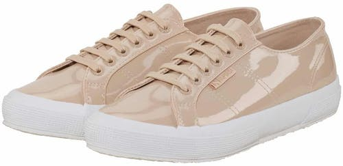 Superga, Sneaker, lack, beige, nude, Spring Shoes 2018, Sneakers 2018, Lodenfrey, Munich