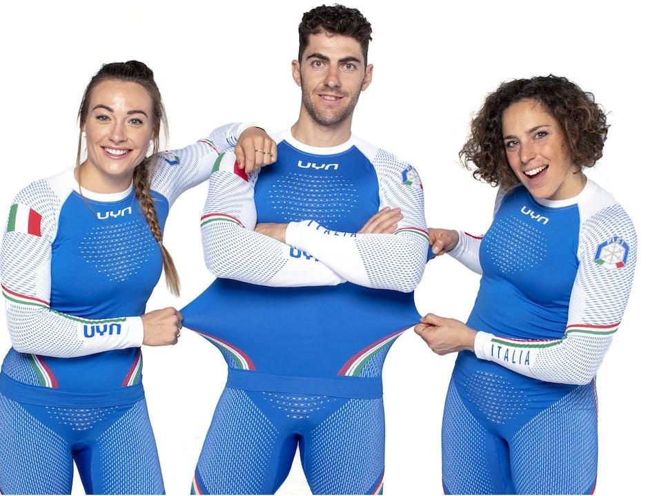 Die Skistars sind bereit, mit Funktionswäsche Natyon Italy 2019 von UYN®