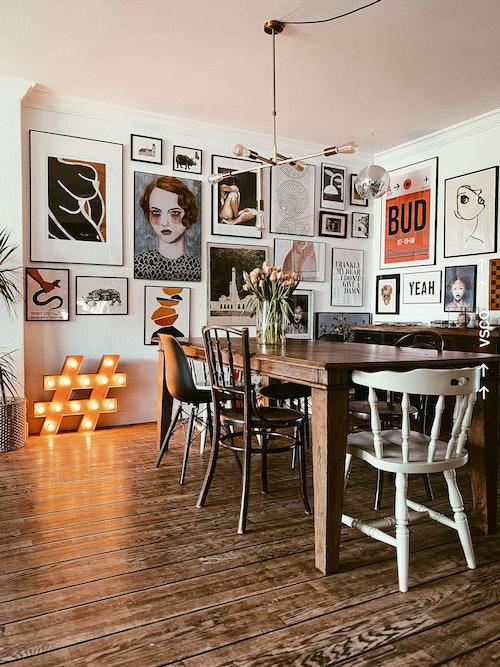 Ein Blick in das Zuhause von Andrea Groot