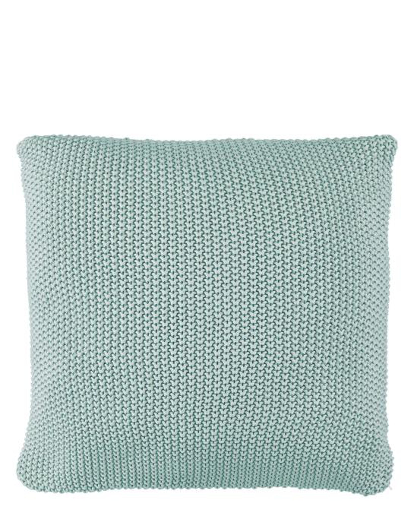 Marc O'Polo Nordic knit  Cushion square Soft green