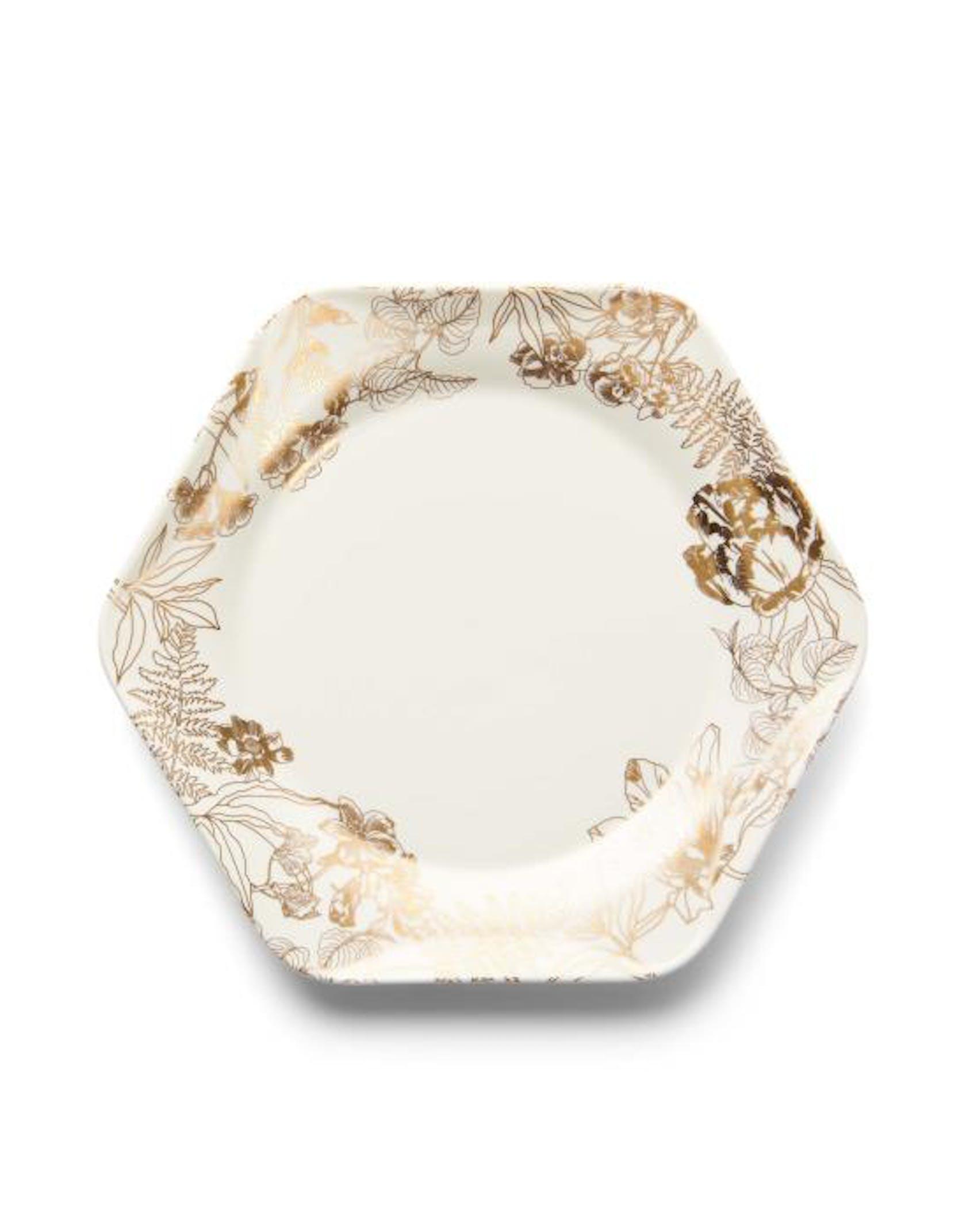 ESSENZA Masterpiece  Cake plate Off white
