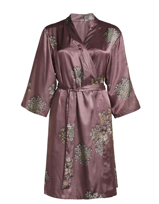 ESSENZA Sarai Lauren Dusty Rose Kimono M
