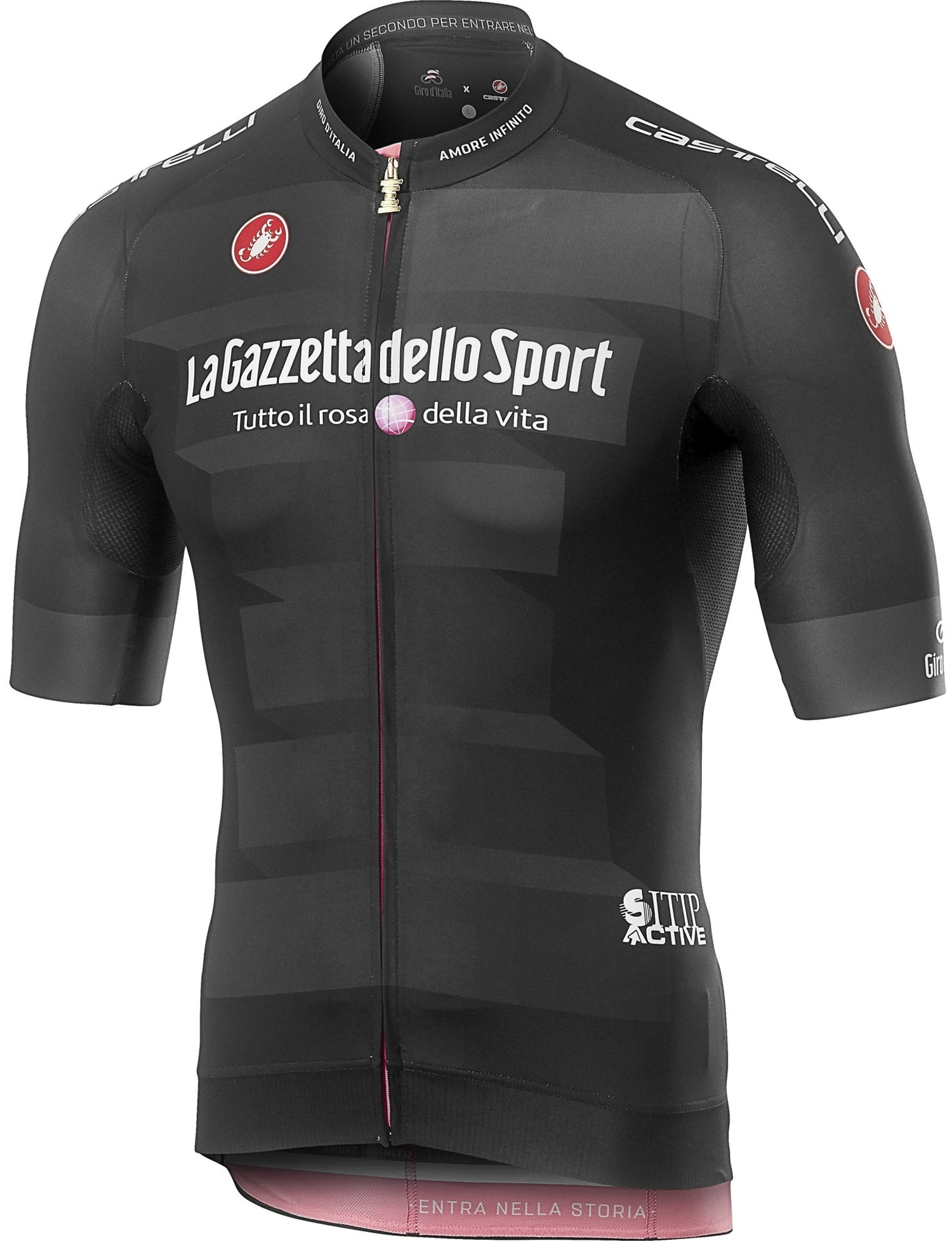 Castelli #Giro102 Race - Maglia Nera Giro d'Italia 2019 - uomo