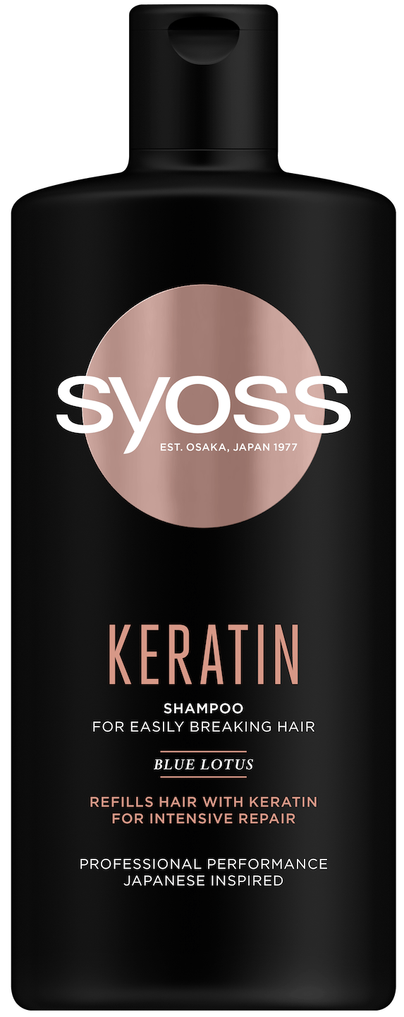 Šampon Syoss Keratin shot pack