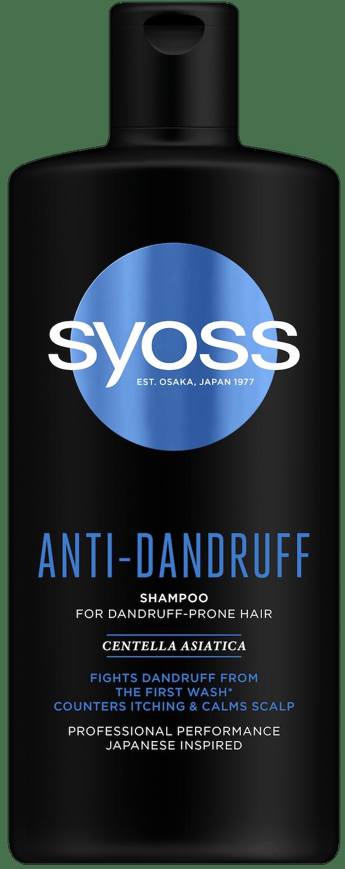 Šampon Syoss Anti-Dandruff shot pack