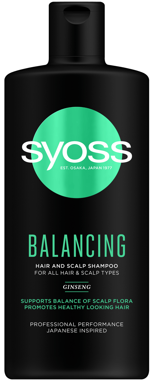Šampon Syoss Balancing shot pack